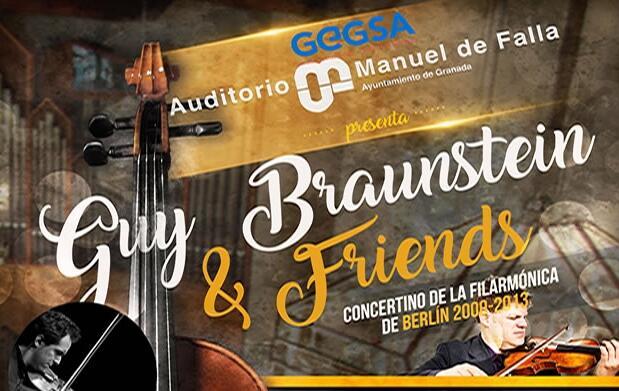 """Concierto """"Guy Braunstein & Friends"""""""