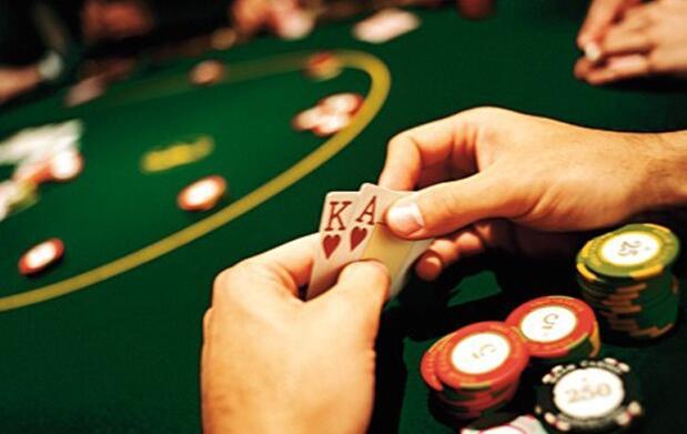Set de póker con maletín
