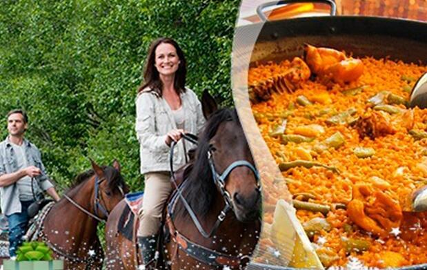 Paseo a caballo y comida en el campo. ¡OFERTA AMPLIADA!