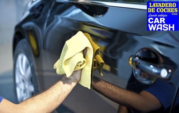Lavado de coche o pulido de faros