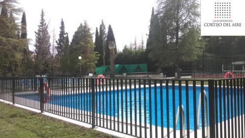 Entrada para la piscina de Cortijo del Aire
