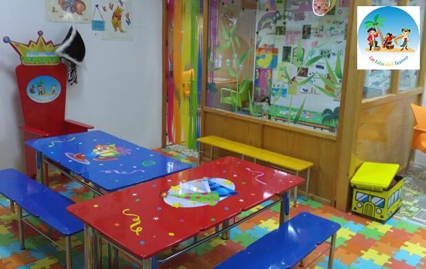 Celebración de cumpleaños infantil para 10 niños