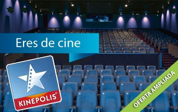 Entrada de cine en Kinépolis ¡Oferta Ampliada!