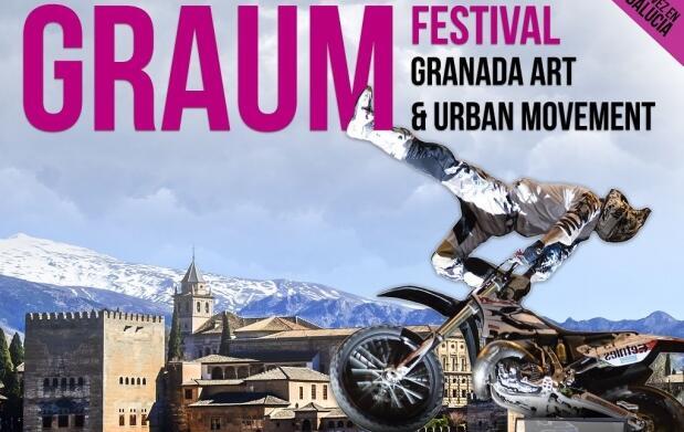 Entradas GRAUM Festival Granada Art & Urban Movement