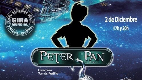 Entradas Peter Pan, El Musical, 2 diciembre Palacio Congresos