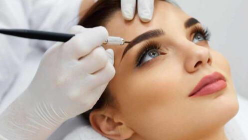 Micropigmentación de línea ojo, cejas o labios