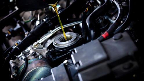 Moto: cambio de aceite y filtro en Armilla