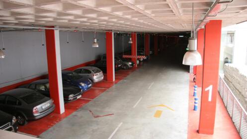 Parking 24 horas en el centro