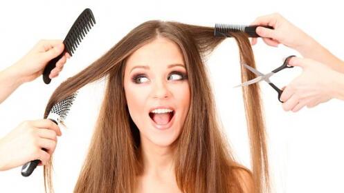 Sesión peluquería con corte + peinado + tratamiento de hidratación