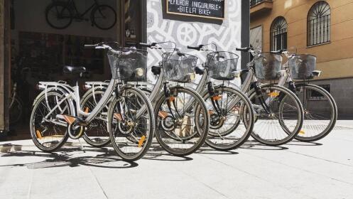 Revisión completa de bici en el centro