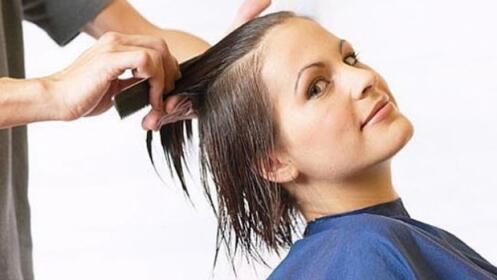 Sesión de peluquería con lavado + corte + peinado con opción a tinte
