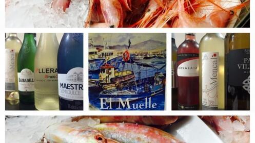 Menú fritura de pescado con entrante + 2 principales, postres y bebidas