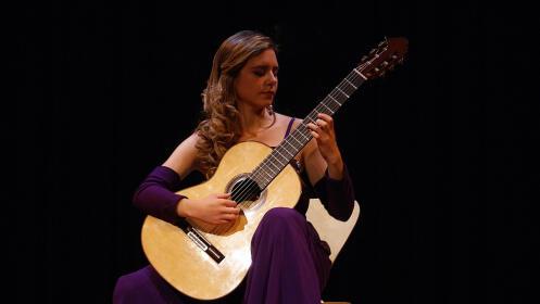 Guitarrista Mabel Millán - Homenaje a Andrés Segovia, 3 julio