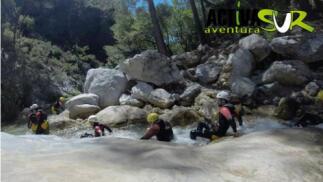 Rafting en Río Genil para 2 personas
