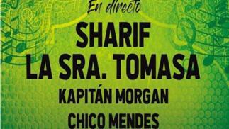 Concierto Sharif y La Sra. Tomasa, 21 junio