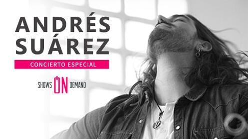 Andrés Suarez en acústico llega en concierto a Granada