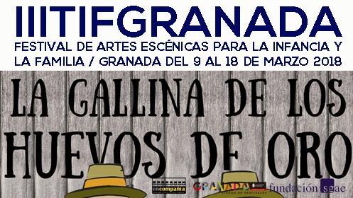 Entradas La Gallina de los Huevos de Oro, Festival TIF 2018, 17 marzo