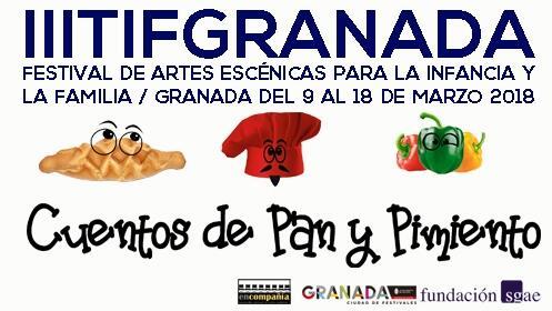 Entradas Cuento de Pan y Pimiento, Festival TIF 2018, 11 marzo