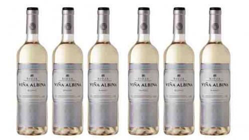 Pack de 6 botellas D.O.C Rioja Viña Albina Blanco Seco