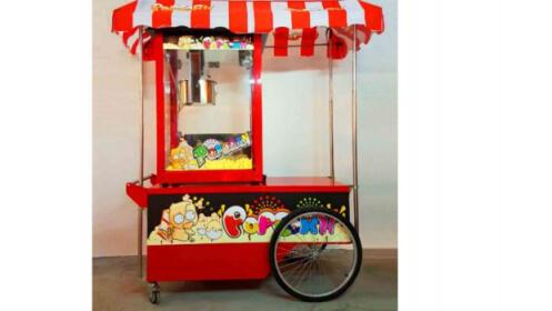 Alquiler de carrito de palomitas o de limonada
