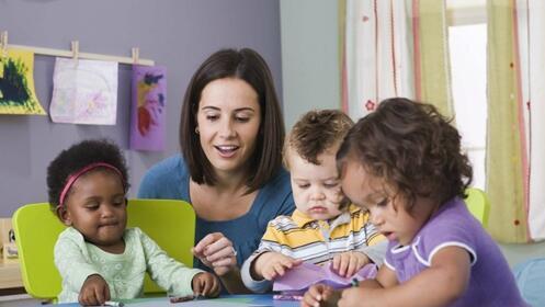 Curso de auxiliar de jardín de infancia