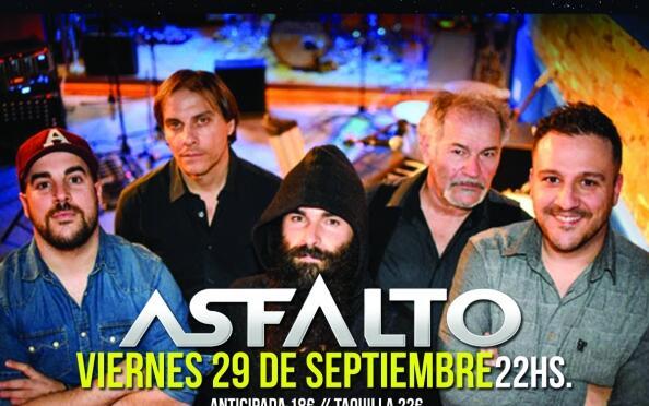 Concierto de Asfalto en Aliatar + 1 Cerveza, próximo 29 de septiembre