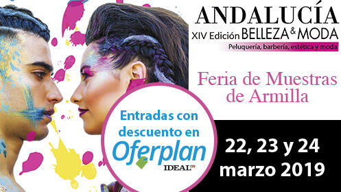 Entradas Andalucía Belleza & Moda, 22-24 marzo