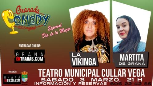 Entradas monólogos con Martita de Graná, 3 marzo en Cúllar Vega