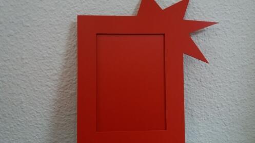 Regala Marcos-foto de colores de PVC