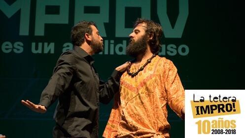 1 entrada doble teatro IMPROV no es un apellido ruso, 4 marzo