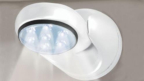 Luz con sensor de movimiento Led