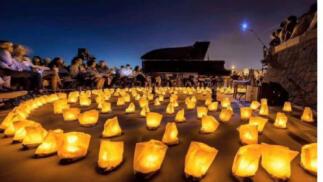 Almuñécar, concierto 1 piano y 200 velas, 13 de agosto.