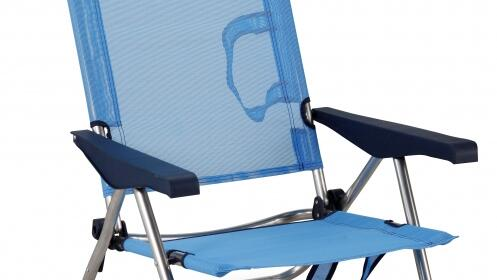 Silla de playa reclinable