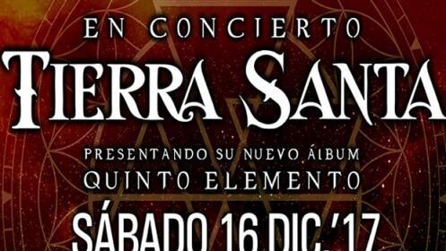 Entradas concierto Tierra Santa, 16 diciembre