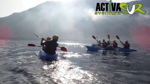 Ruta en kayak + snorkel para 2 en la Herradura