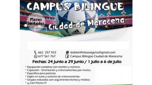Campus bilingüe deportivo en verano