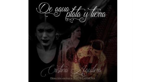 Espectáculo flamenco Cristina Aguilera, 12 oct en Almuñécar