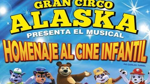 Entrada niño + adulto Circo Alaska, 23 y 24 marzo