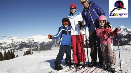 Cursos de esquí de 2 y 4 horas + material para 1 o 2 personas