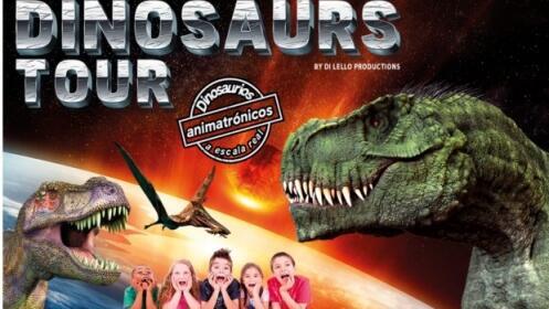 Jaén: entradas para Dinosaurs Tour por 4,90 €