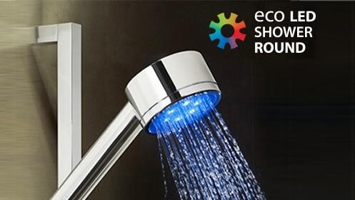 Luz Eco Led Shower Round Shape