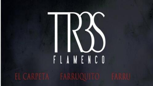 Entrada TR3S Flamenco: Farruquito, El Carpeta y Farru, 18 mayo