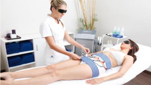 Tratamiento adelgazante: 5 sesiones de láser lipolítico + preso + vacumterapia