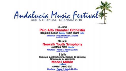 Entradas Andalucía Music Festival en Almuñécar