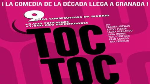 Entradas comedia Toc Toc, 7 octubre