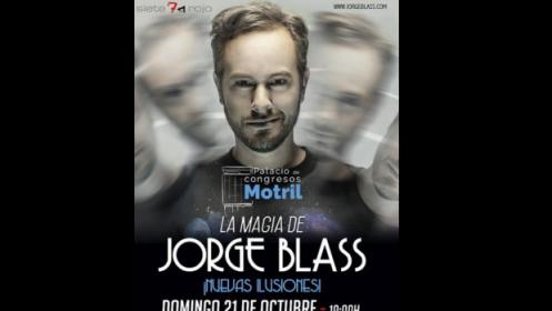 Espectáculo magia Jorge Blass, 21 octubre