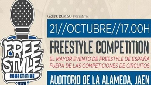 Freestyle Competition con Ocer y Rade, 21 oct en Jaén