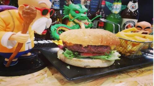 2 hamburguesas geek + patatas + 2 bebidas
