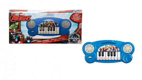 Mini piano Disney Frozen o Marvel Avengers