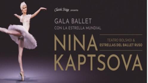 Entradas Gala Nina Kaptsova & Estrellas Ballet Ruso, 26 abril
